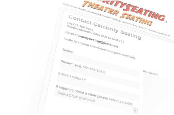 Contact Celebrity Seating