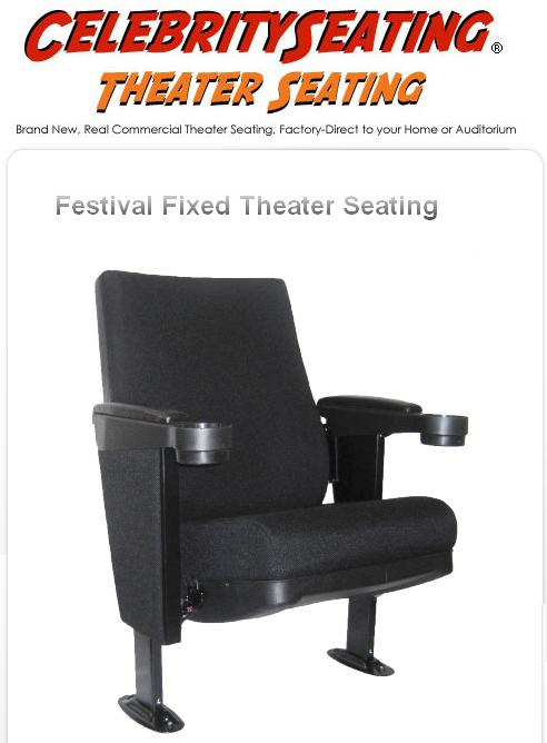 Theater Seating Festival fixed back installation guide