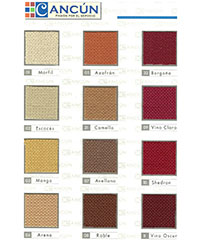 home theater seating fabric cancun1